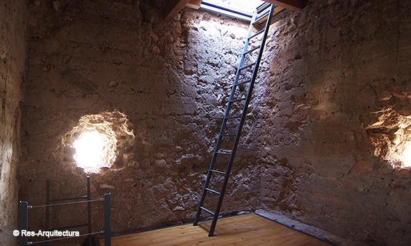 Torre Bofilla. Interior