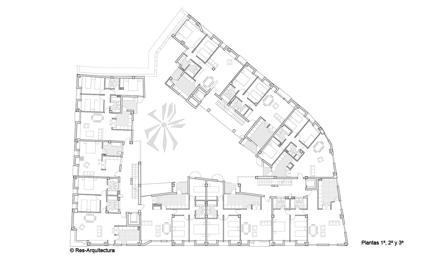 Edificio en Maldonado 16.Plantas 1ª, 2ª y 3ª