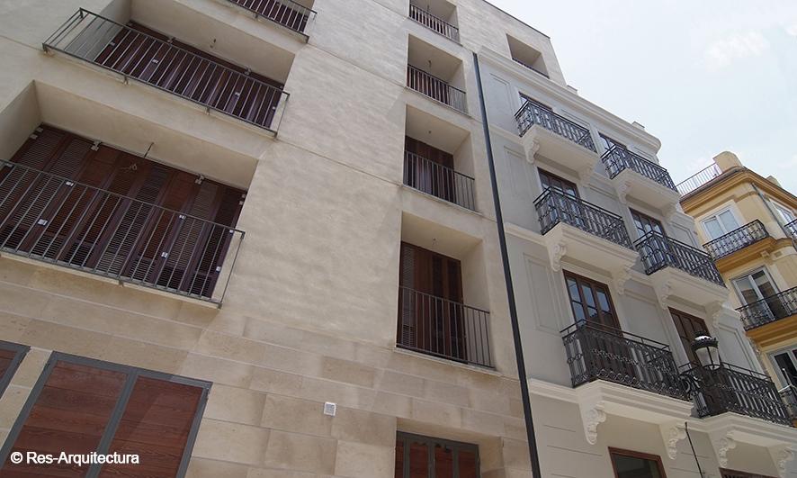 Edificio en Maldonado 16. Fachada