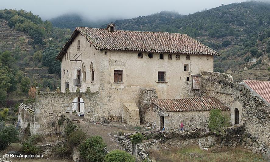Castillo Palacio del Barón de Herbés. Vista general