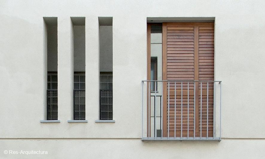 Edificios de 23 viviendas VPO en C/ Recaredo